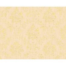Architects Paper klassische Mustertapete Metallic Silk Textiltapete creme metallic 306623 10,05 m x 0,53 m