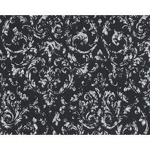 Architects Paper klassische Mustertapete Metallic Silk Textiltapete gelb metallic 306606 10,05 m x 0,53 m