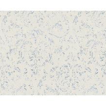 Architects Paper klassische Mustertapete Metallic Silk Textiltapete grau metallic 306601 10,05 m x 0,53 m