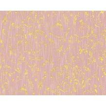 Architects Paper klassische Mustertapete Metallic Silk Textiltapete rosa metallic 306604 10,05 m x 0,53 m
