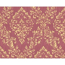 Architects Paper klassische Mustertapete Metallic Silk Textiltapete rot metallic 306596
