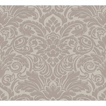 Architects Paper klassische Mustertapete mit Glasperlen Luxury wallpaper Vliestapete braun metallic 305452