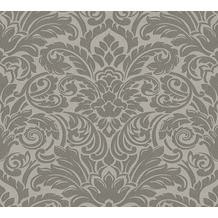 Architects Paper klassische Mustertapete mit Glasperlen Luxury wallpaper Vliestapete grau metallic 305453