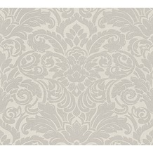 Architects Paper klassische Mustertapete mit Glasperlen Luxury wallpaper Vliestapete metallic creme 305451