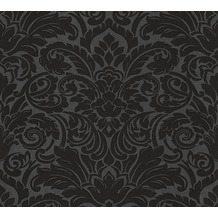 Architects Paper klassische Mustertapete mit Glasperlen Luxury wallpaper Vliestapete schwarz metallic 305455