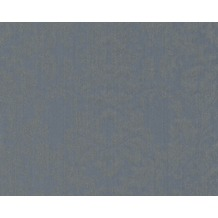Architects Paper klassische Mustertapete mit Glitter Haute Couture 3, blau, grau, metallic 290564 10,05 m x 0,53 m