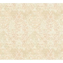 Architects Paper Mustertapete im Vintage Look Luxury Classics Vliestapete beige creme rosa 343754 10,05 m x 0,53 m