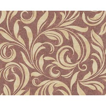 Architects Paper Mustertapete Nobile, Tapete, beige, metallic, rot 959403 10,05 m x 0,70 m