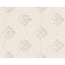 Architects Paper Mustertapete Tessuto 2, Textiltapete, creme, grau 962002