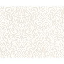 Architects Paper Mustertapete Tessuto 2, Textiltapete, creme, weiß 961935