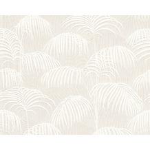 Architects Paper Mustertapete Tessuto 2, Textiltapete, creme, weiß 961981