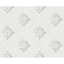 Architects Paper Mustertapete Tessuto 2, Textiltapete, grau, weiß 962001