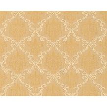 Architects Paper Mustertapete Tessuto, Textiltapete, beige, braunbeige, hellelfenbein 956293 10,05 m x 0,53 m