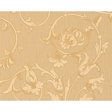 Architects Paper Mustertapete Tessuto, Textiltapete, beige, ockerbraun 956333 10,05 m x 0,53 m