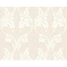 Architects Paper Mustertapete Tessuto, Textiltapete, elfenbein, signalweiß, perlweiß 956287