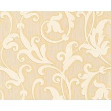 Architects Paper Mustertapete Tessuto, Textiltapete, hellelfenbein, sandgelb 954902 10,05 m x 0,53 m