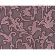 Architects Paper Mustertapete Tessuto, Textiltapete, pastellviolett, purpurviolett 954905 10,05 m x 0,53 m