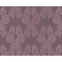 Architects Paper Mustertapete Tessuto, Textiltapete, rotlila, pastellviolett 956305 10,05 m x 0,53 m