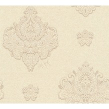 Architects Paper neobarocke Mustertapete Kind of White by Wolfgang Joop beige creme metallic 10,05 m x 0,53 m