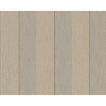 Architects Paper Streifentapete Tessuto 2, Textiltapete, beige, braun 961943