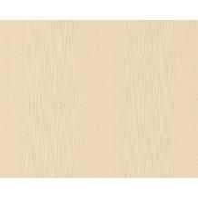 Architects Paper Streifentapete Tessuto, Textiltapete, beige, hellelfenbein 956605 10,05 m x 0,53 m