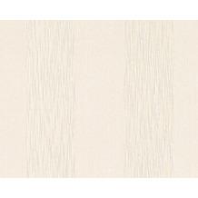 Architects Paper Streifentapete Tessuto, Textiltapete, signalweiß, perlweiß 956602 10,05 m x 0,53 m