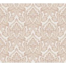 Architects Paper Textiltapete Di Seta Tapete mit Ornamenten barock braun hellbraun metallic 366685 10,05 m x 0,70 m