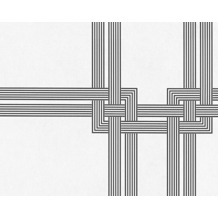 Architects Paper überstreichbare Vliestapete Pigment Multi Colour, weiß, schwarz 951841 10,05 m x 0,53 m