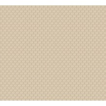 Architects Paper Uni-, Strukturtapete Luxury wallpaper Tapete beige metallic 319085 10,05 m x 0,53 m