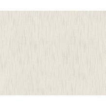 Architects Paper Unitapete Metallic Silk Textiltapete grau 306834 10,05 m x 0,53 m