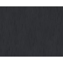 Architects Paper Unitapete Metallic Silk Textiltapete schwarz 309072 10,05 m x 0,53 m