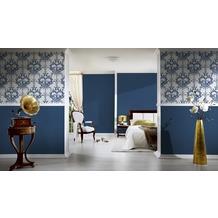 Architects Paper Unitapete Tessuto 2, Textiltapete, blau