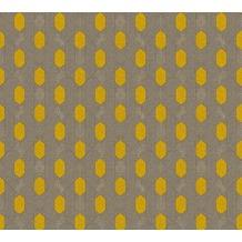 Architects Paper Vliestapete Absolutely Chic Tapete geometrisch grafisch gelb grau beige 369732