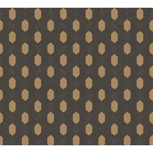 Architects Paper Vliestapete Absolutely Chic Tapete geometrisch grafisch schwarz braun 369735