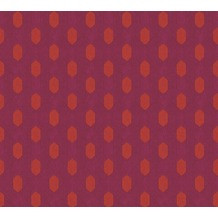 Architects Paper Vliestapete Absolutely Chic Tapete geometrisch grafisch rot orange lila 369731 10,05 m x 0,53 m