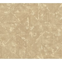 Architects Paper Vliestapete Absolutely Chic Tapete im Ethno Look beige braun metallic 369745 10,05 m x 0,53 m