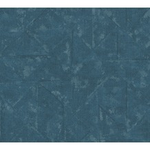 Architects Paper Vliestapete Absolutely Chic Tapete im Ethno Look blau grau metallic 369751 10,05 m x 0,53 m