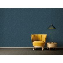 Architects Paper Vliestapete Absolutely Chic Tapete im Ethno Look blau grau metallic 10,05 m x 0,53 m
