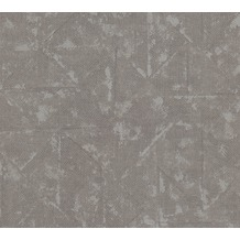 Architects Paper Vliestapete Absolutely Chic Tapete im Ethno Look metallic grau 369749 10,05 m x 0,53 m