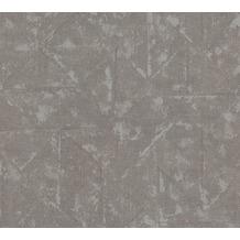 Architects Paper Vliestapete Absolutely Chic Tapete im Ethno Look metallic grau 369749