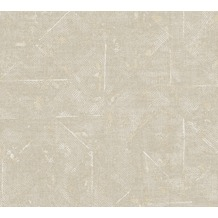 Architects Paper Vliestapete Absolutely Chic Tapete im Ethno Look metallic grau beige 369746 10,05 m x 0,53 m