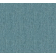 Architects Paper Vliestapete Absolutely Chic Tapete in Textil Optik blau metallic 369763 10,05 m x 0,53 m