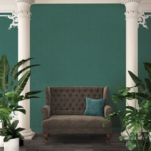 Architects Paper Vliestapete Absolutely Chic Tapete in Textil Optik metallic grün 10,05 m x 0,53 m