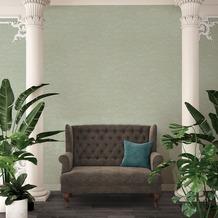 Architects Paper Vliestapete Absolutely Chic Tapete mit Blumen floral metallic blau grün 10,05 m x 0,53 m