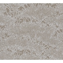 Architects Paper Vliestapete Absolutely Chic Tapete mit Blumen floral metallic grau 369721 10,05 m x 0,53 m