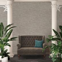 Architects Paper Vliestapete Absolutely Chic Tapete mit Blumen floral metallic grau 10,05 m x 0,53 m