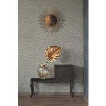 Architects Paper Vliestapete Absolutely Chic Tapete mit Blumen floral metallic grau beige 10,05 m x 0,53 m