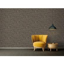 Architects Paper Vliestapete Absolutely Chic Tapete mit Blumen floral schwarz grau beige 10,05 m x 0,53 m