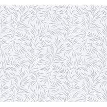 Architects Paper Vliestapete Alpha Tapete floral grau metallic 333261 10,05 m x 0,53 m
