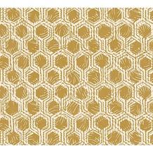 Architects Paper Vliestapete Alpha Tapete grafisch beige metallic 333273 10,05 m x 0,53 m